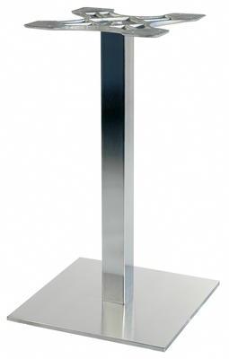 NIRO 40Q Tischfuss 40x40 cm Edelstahl
