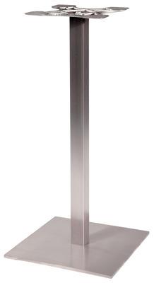 NIRO 40QS Stehtischfuss 40x40 cm Edelstahl
