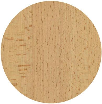 Tischplatte Buche massiv Ø 60 cm