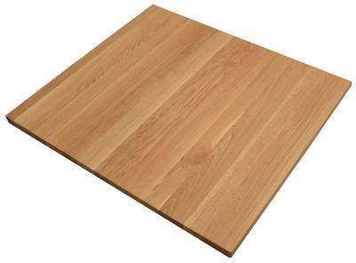 Tischplatte Eiche massiv  70x80 cm