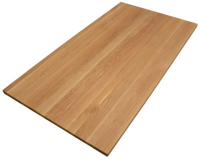 Tischplatte Asteiche rustikal 200x80 cm
