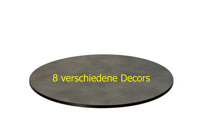 TREWAtop HPL-Tischplatte Ø 70 cm