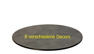 TREWAtop HPL-Tischplatte Ø 75 cm