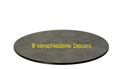 TREWAtop HPL-Tischplatte Ø 80 cm