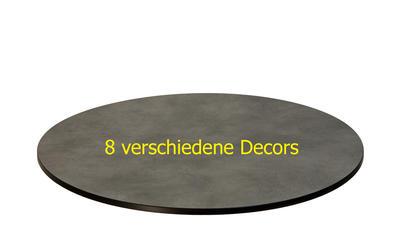 TREWAtop HPL-Tischplatte Ø 90 cm