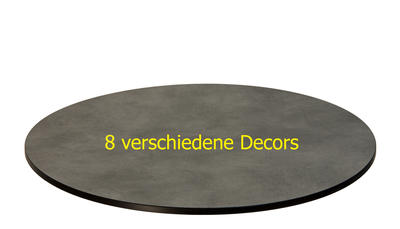 TREWAtop HPL-Tischplatte Ø100 cm