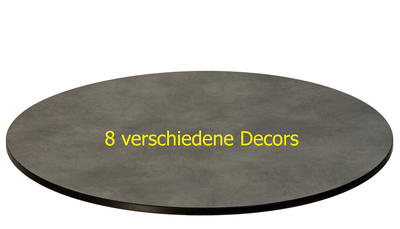 TREWAtop HPL-Tischplatte Ø120 cm