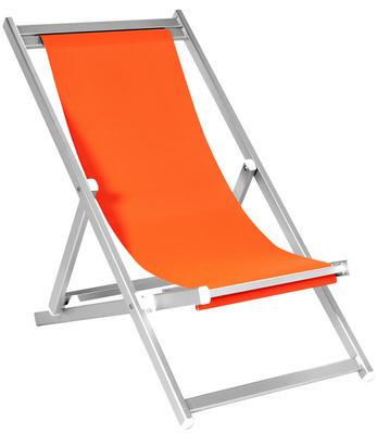 Strandliegestuhl professionell 3 positionen ohne Armlehne