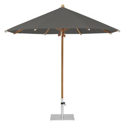 Teakwood Ø 350 cm Stoffklasse 5 Sonnenschirm