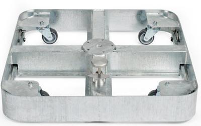 Rollensockelrahmen M4, 150, Stahl verzinkt