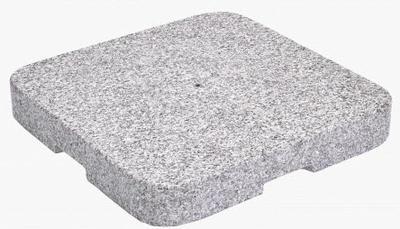 Granitsockel Z, 90 kg, 64 x 64 x 9 cm, Naturstein