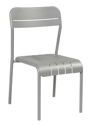 K2002 Stapelstuhl aus Aluminium